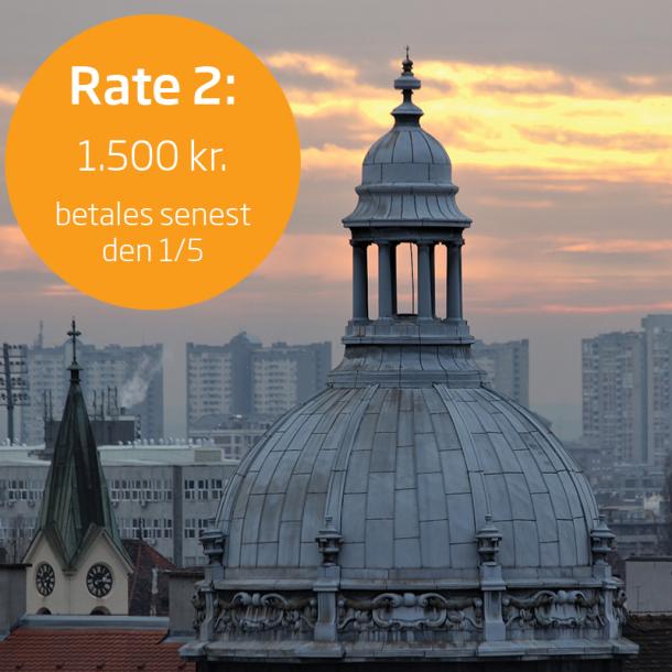 Studietur for 2.g til Zagreb – rate 2