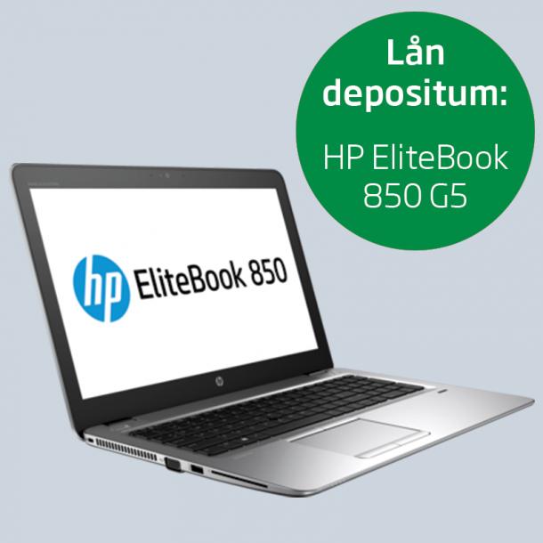 Depositum lånecomputer: HP EliteBook 850 G5