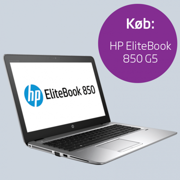 Engangsbetaling: HP EliteBook 850 G5