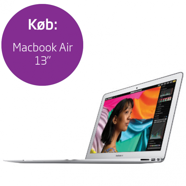 Engangsbetaling: Macbook Air 13
