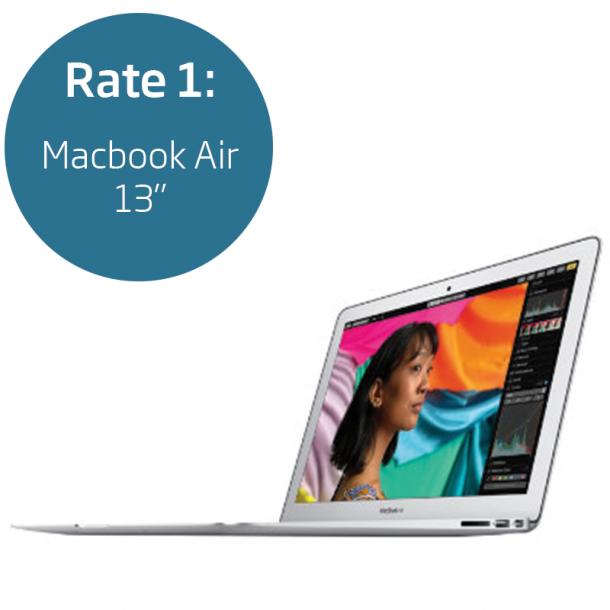 Rate 1: Macbook Air 13