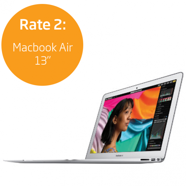 Rate 2: Macbook Air 13