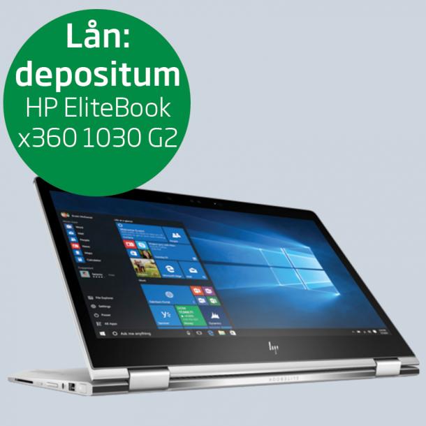 Depositum lånecomputer: HP EliteBook x360 1030 G2