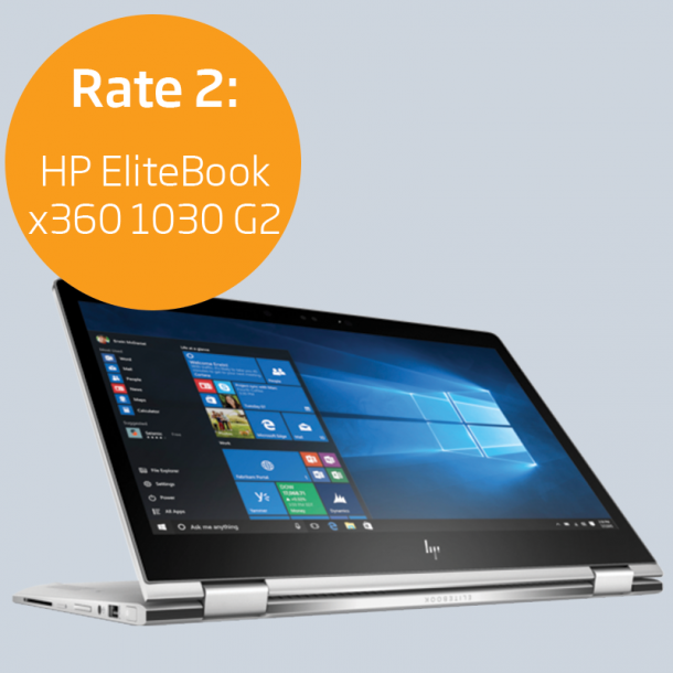 Rate 2: HP EliteBook x360 1030 G2
