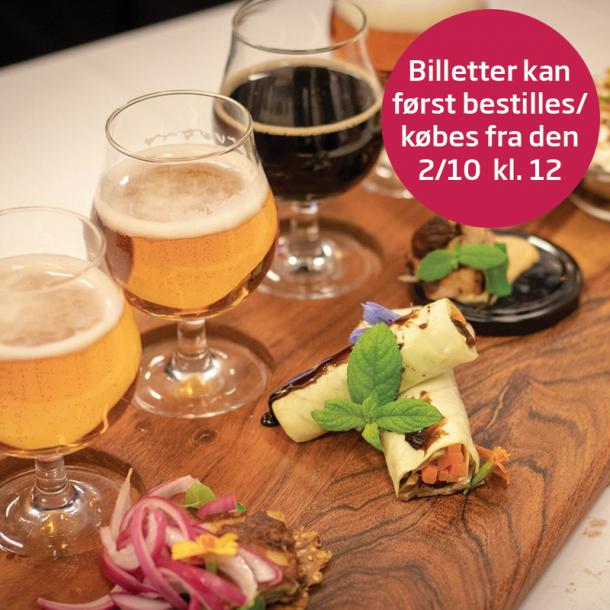 Kulturnat 2019: Humlen ved det hele er god øl (og mad)